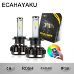 Smartphone-control RGB LED headlight